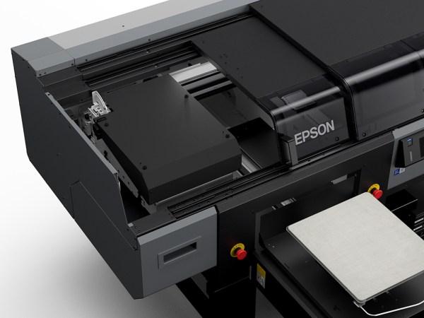 Epson SC-F3030 Left Side Cover Open