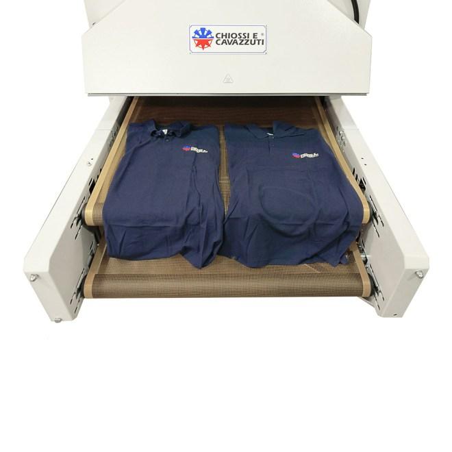 DTG Printing - Chiossi E Cavazzuti Dual 1200 Dryer
