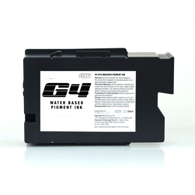 DTG G4 White (W2) Ink Cartridge