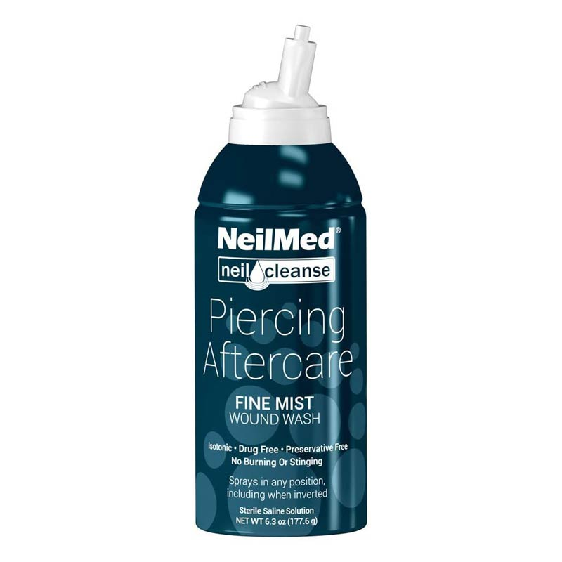 NeilMed Sterile Saline Spray - Flux Piercing