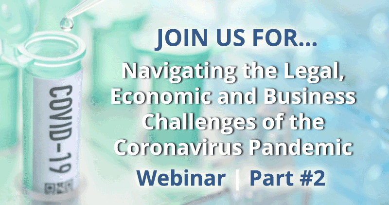 Coronavirus – Workplace Management Considerations for Employers Webinar hosted by Nelson Mullins Part 2