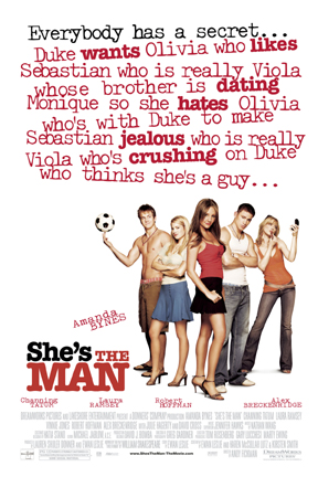 She's The Man Funny Moments : she's, funny, moments, She's, (2006), Rotten, Tomatoes