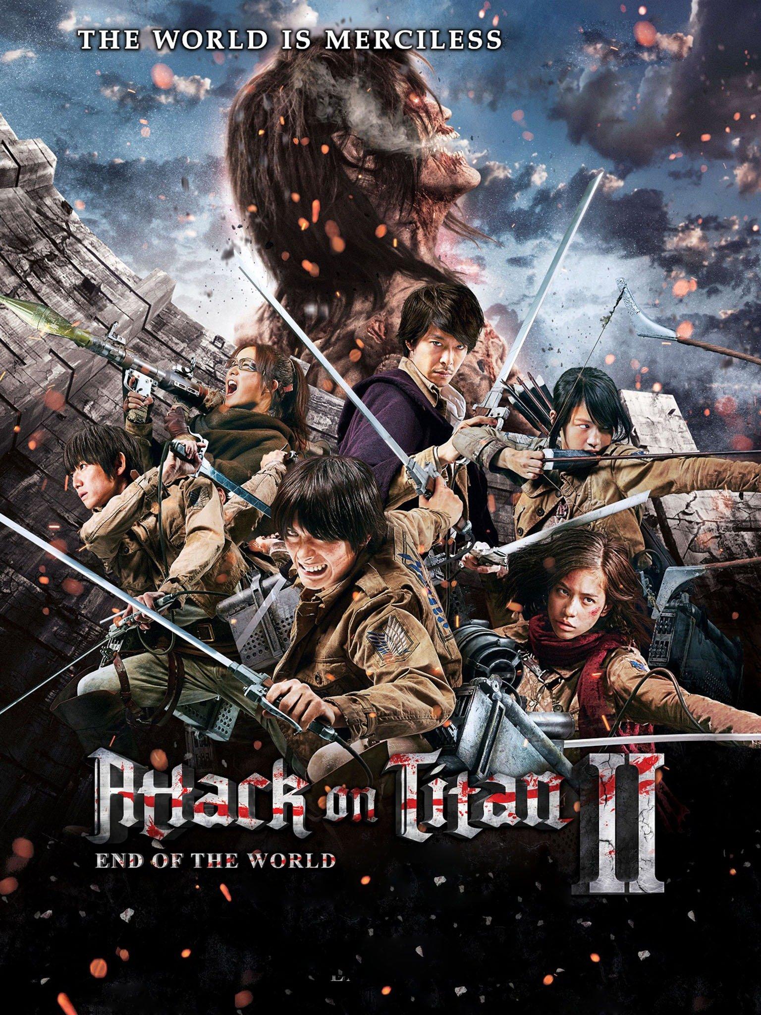 Shingeki No Kyojin Film : shingeki, kyojin, Attack, Titan:, (Shingeki, Kyojin, Warudo), Movie, Reviews