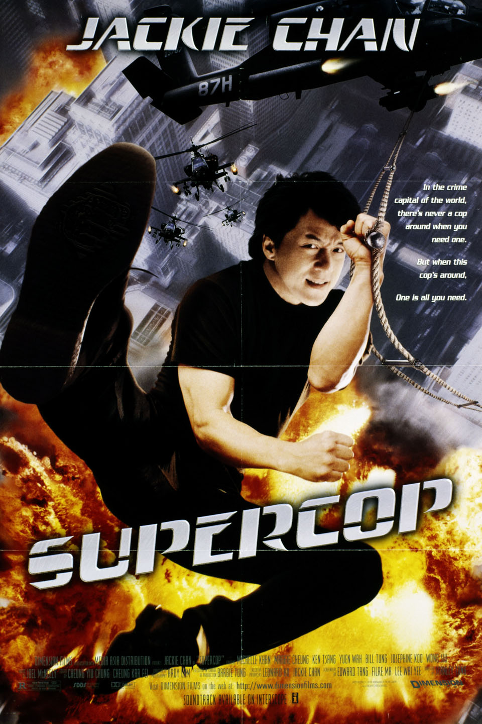 Police Story 3 Sub Indo : police, story, Supercop, (1992), Rotten, Tomatoes