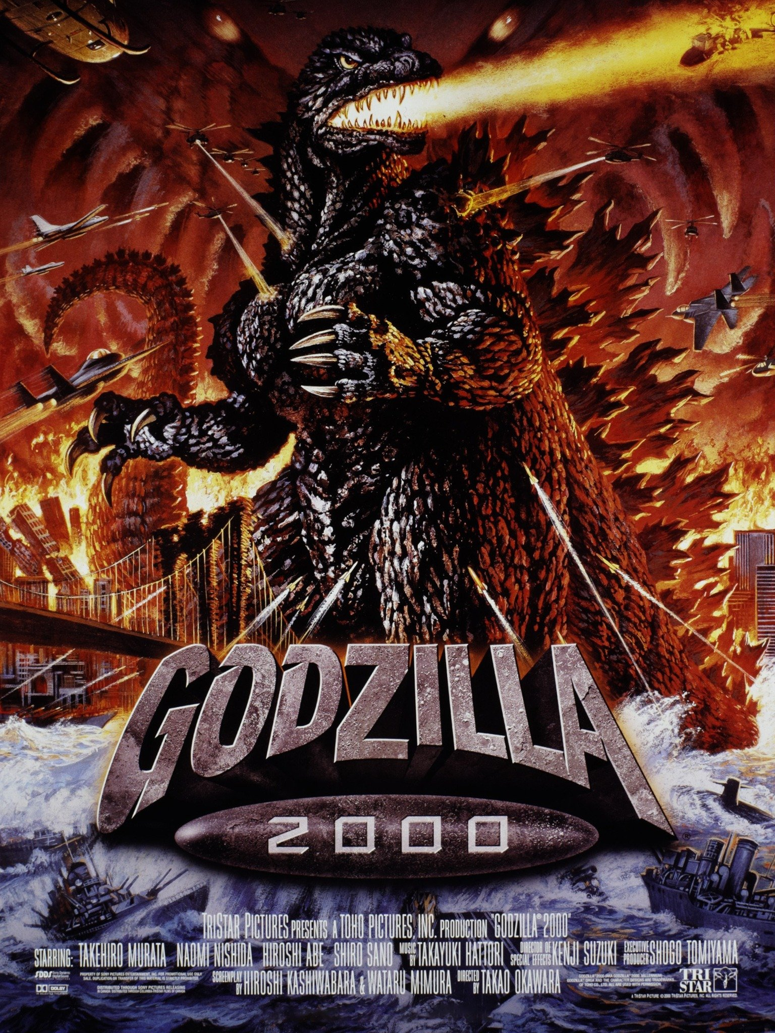 The Final Countdown Movie Remake : final, countdown, movie, remake, Godzilla, (2000), Rotten, Tomatoes
