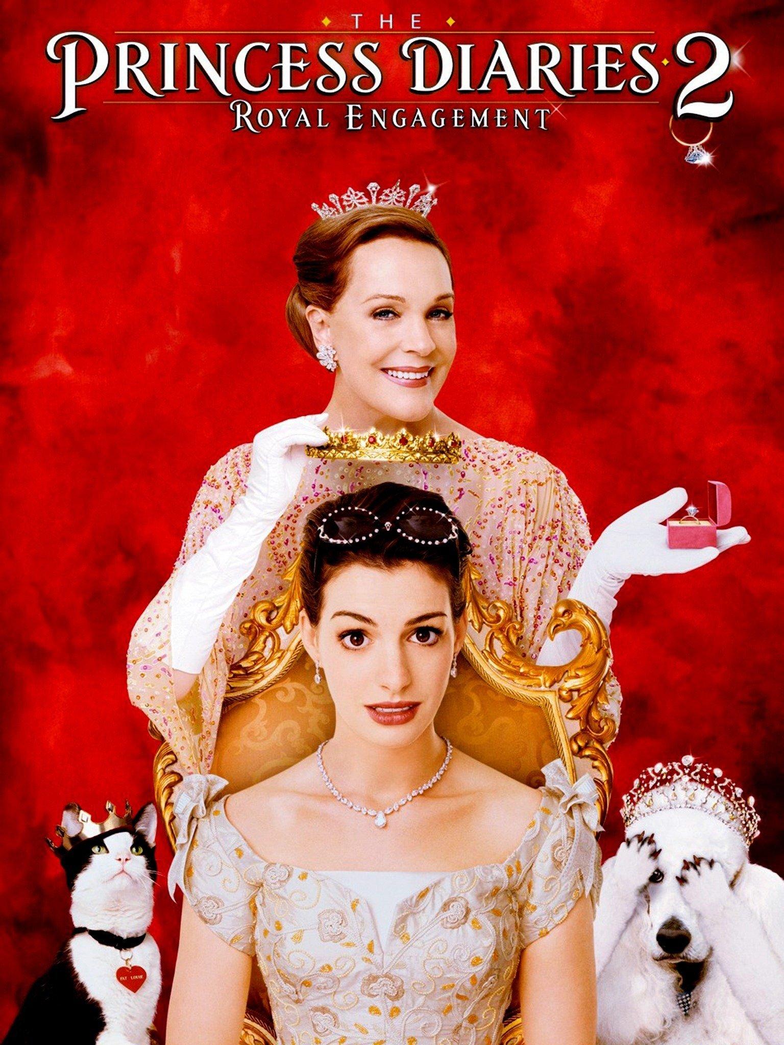 Le Journal D'une Princesse Film : journal, d'une, princesse, Princess, Diaries, Royal, Engagement, (2004), Rotten, Tomatoes