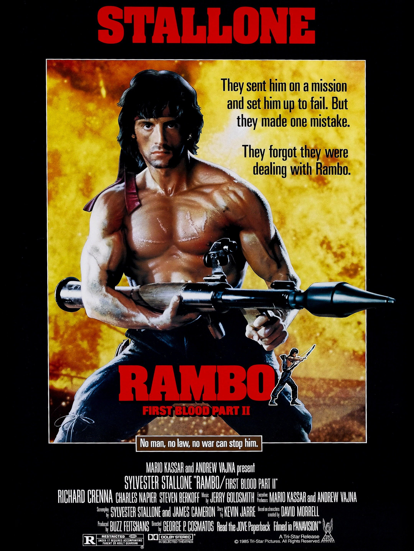 Nonton Film Rambo 3 : nonton, rambo, Rambo:, First, Blood, (1985), Rotten, Tomatoes
