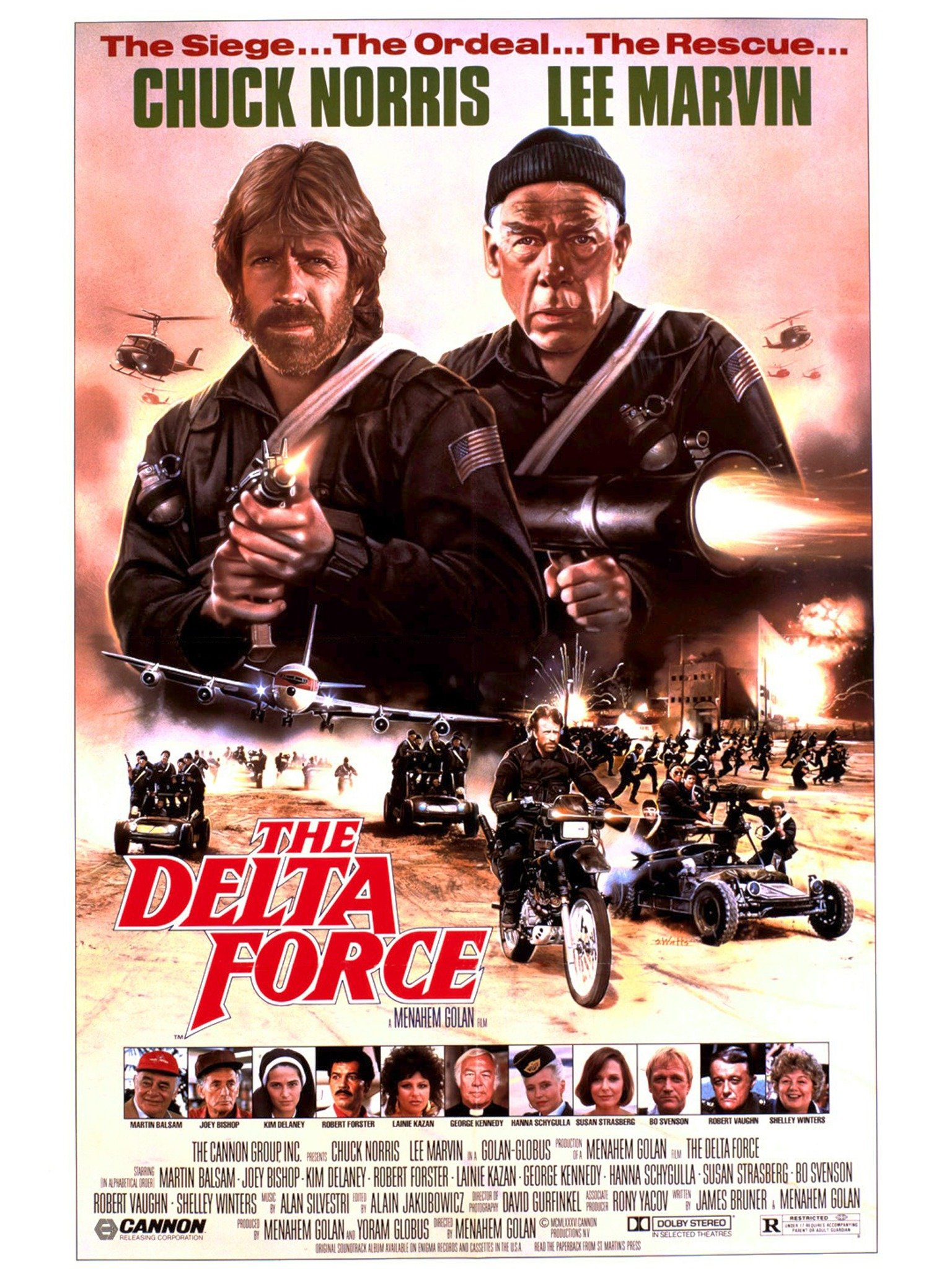 Nonton Film Air Force One : nonton, force, Delta, Force, (1986), Rotten, Tomatoes