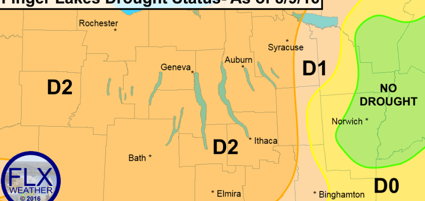 finger lakes severe drought report