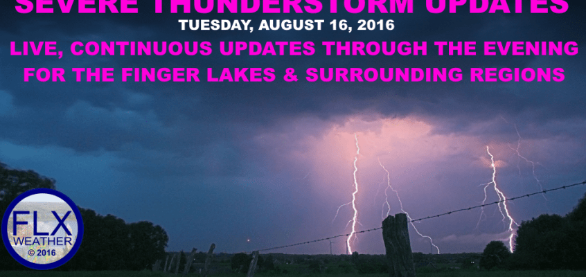 Finger Lakes weather severe thunderstorm updates