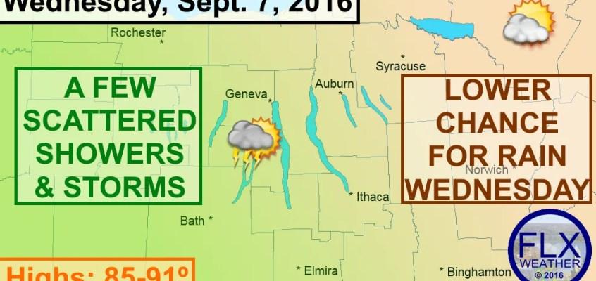 finger lakes thunderstorms wednesday september 7 2016