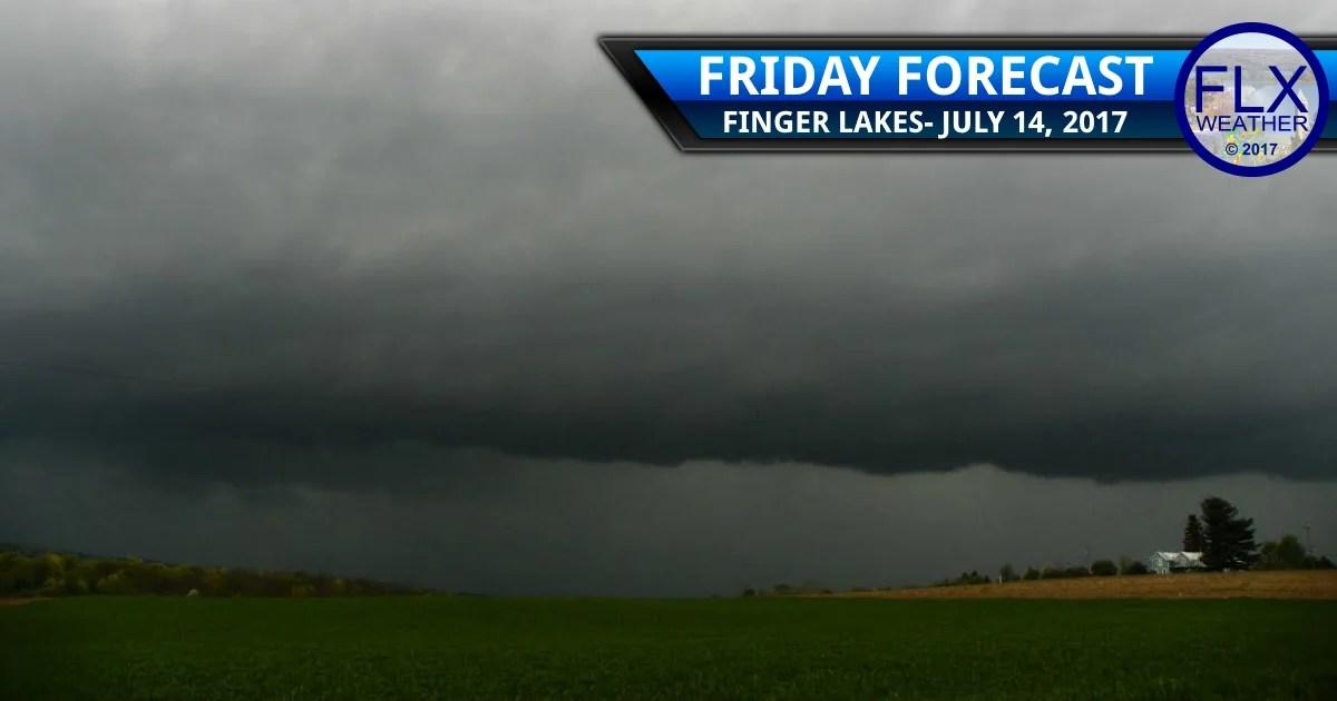 finger lakes weather forecast flash flood thunderstorms heavy rain