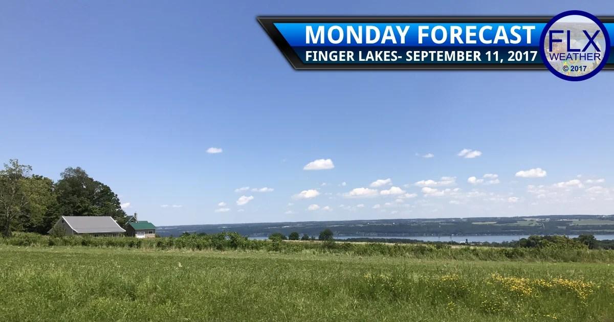 finger lakes weather forecast nice warm sunny