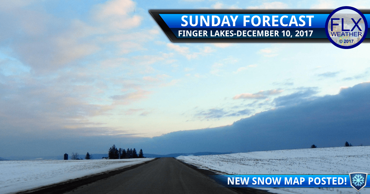 finger lakes weather forecast lake effect snow accumulation sunday december 10 2017