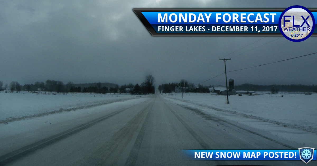 finger lakes weather forecast snow monday december 11 2017 tuesday december 12 2017