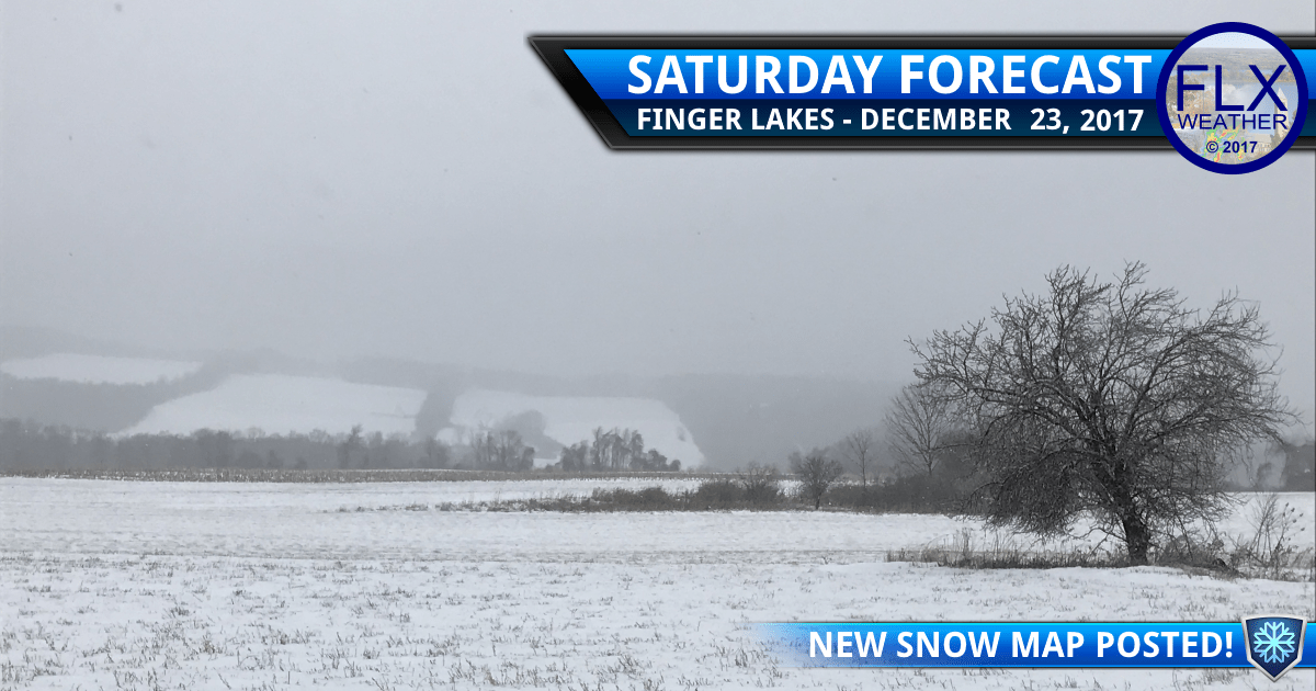 finger lakes weather forecast saturday december 23 2017 rain ice snow accumulation map
