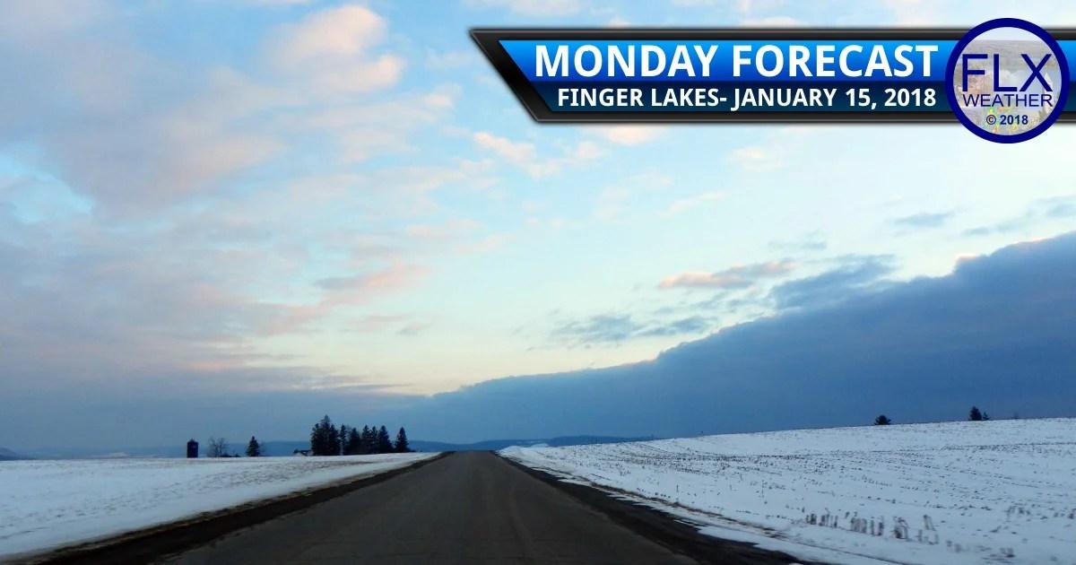 finger lakes weather forecast monday january 15 2018 light snow