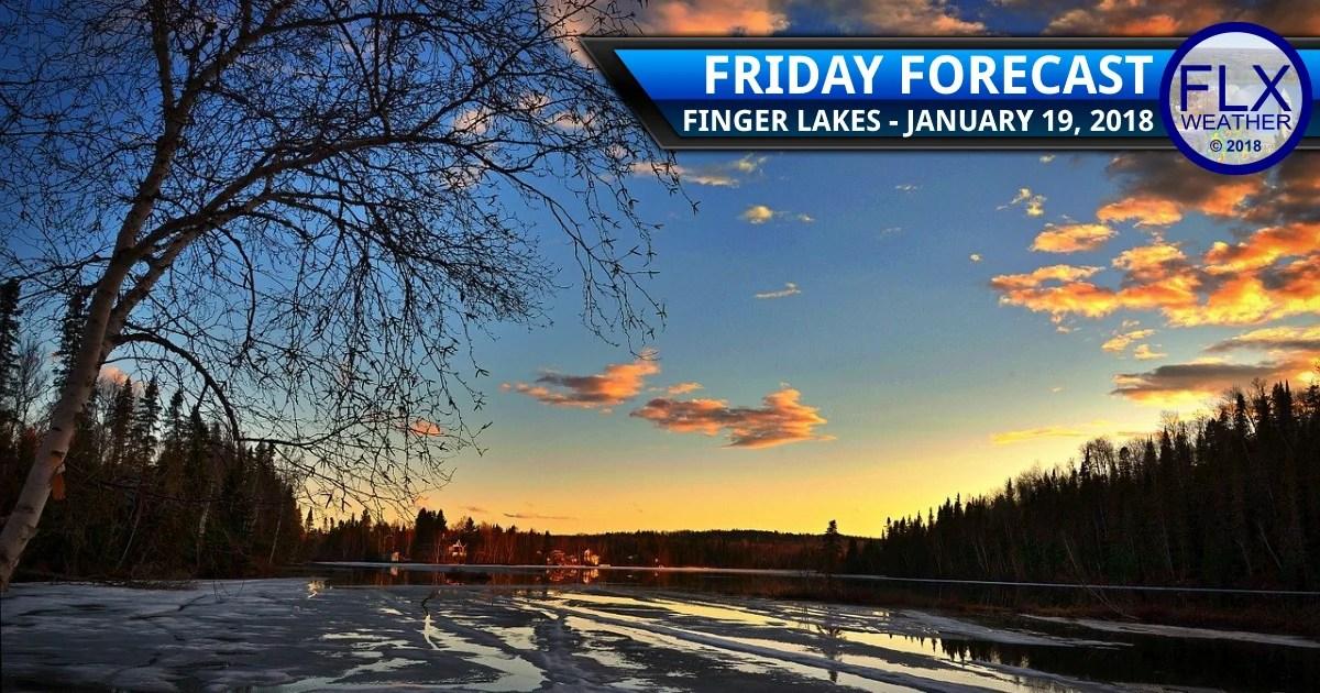 finger lakes weather forecast friday january 19 2018 sunny warmer
