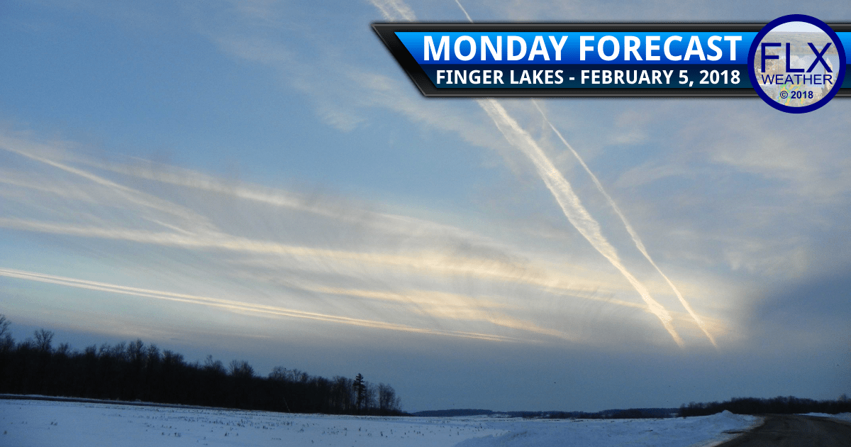 finger lakes weather forecast monday february 5 2018 snow