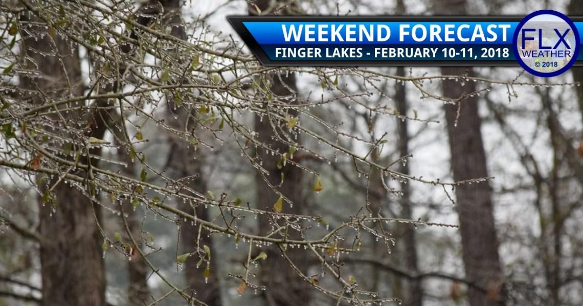 finger lakes weather forecast saturday febraury 10 2018 wintry mix freezing rain ice