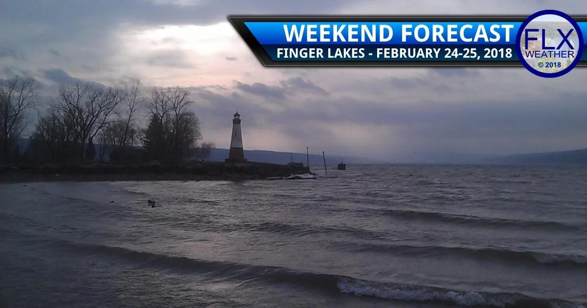 finger lakes weather forecast weekend february 24 2018 storm rain wind