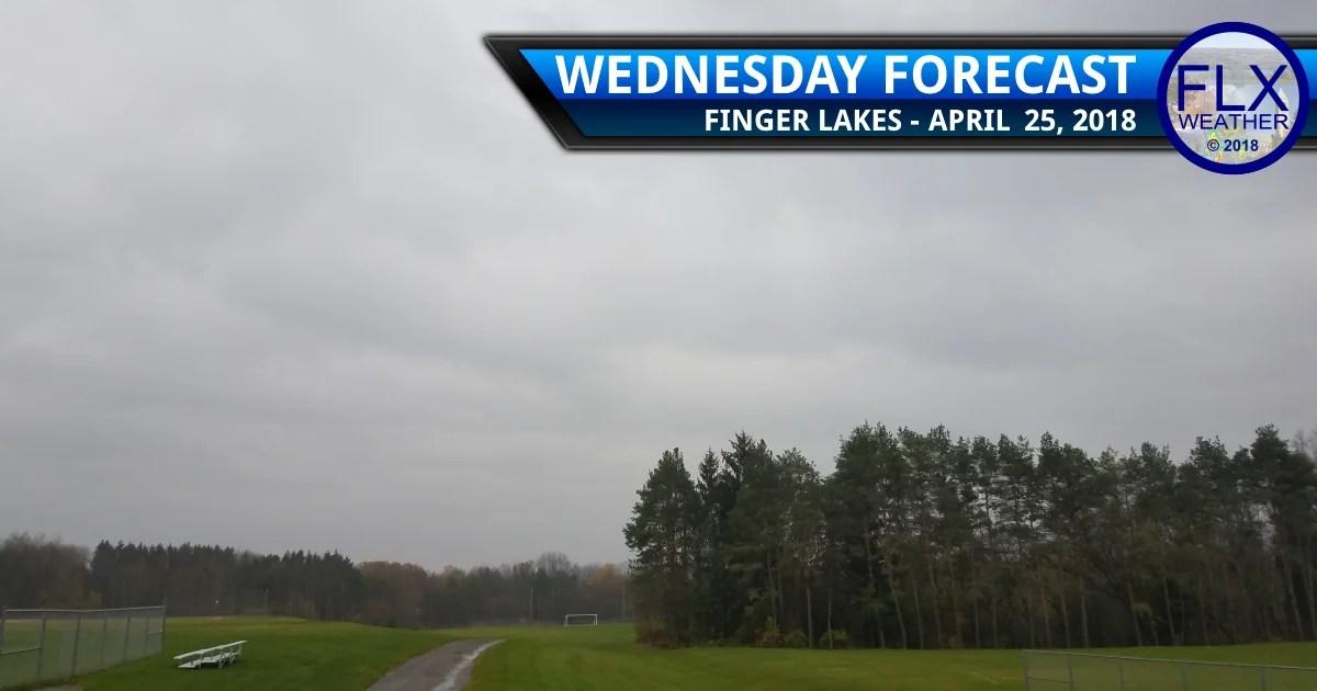 finger lakes weather forecast wednesday april 25 2018 rain showers