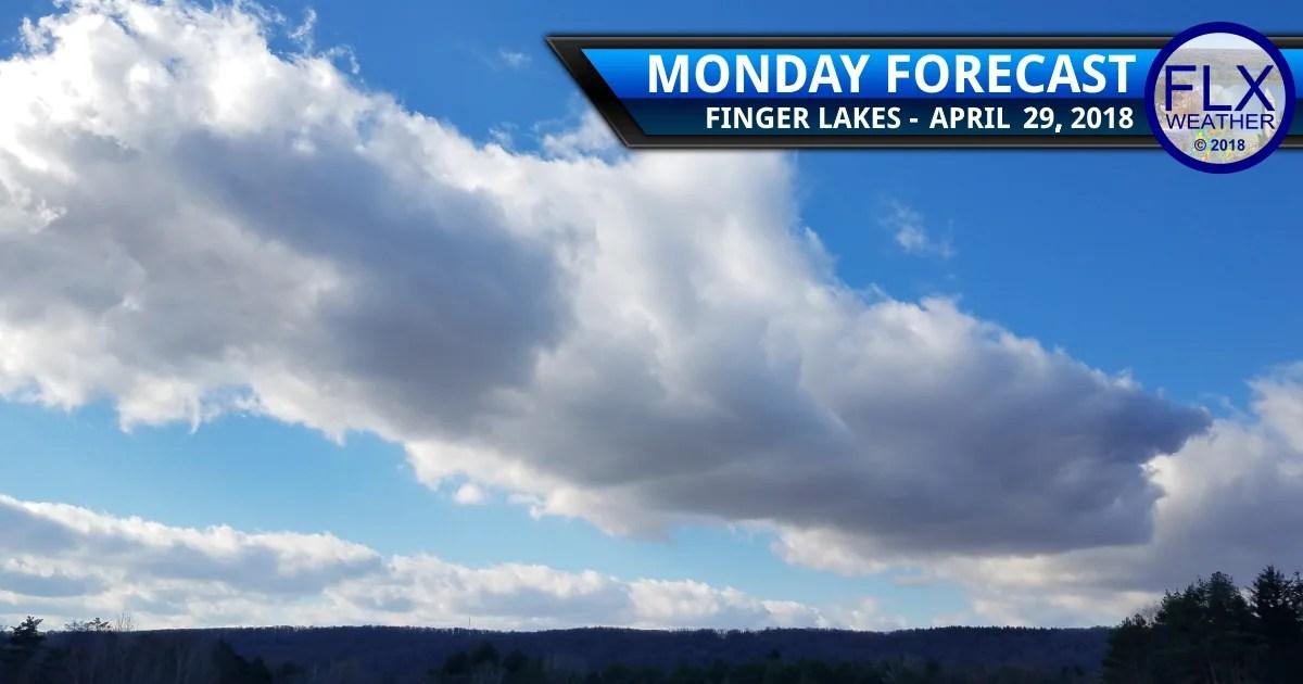 finger lakes weather forecast monday april 30 2018 clouds sun temperatures warm