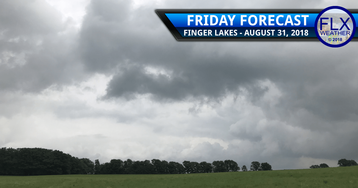 finger lakes weather forecast friday august 31 2018 rain showers thunderstorms afternoon