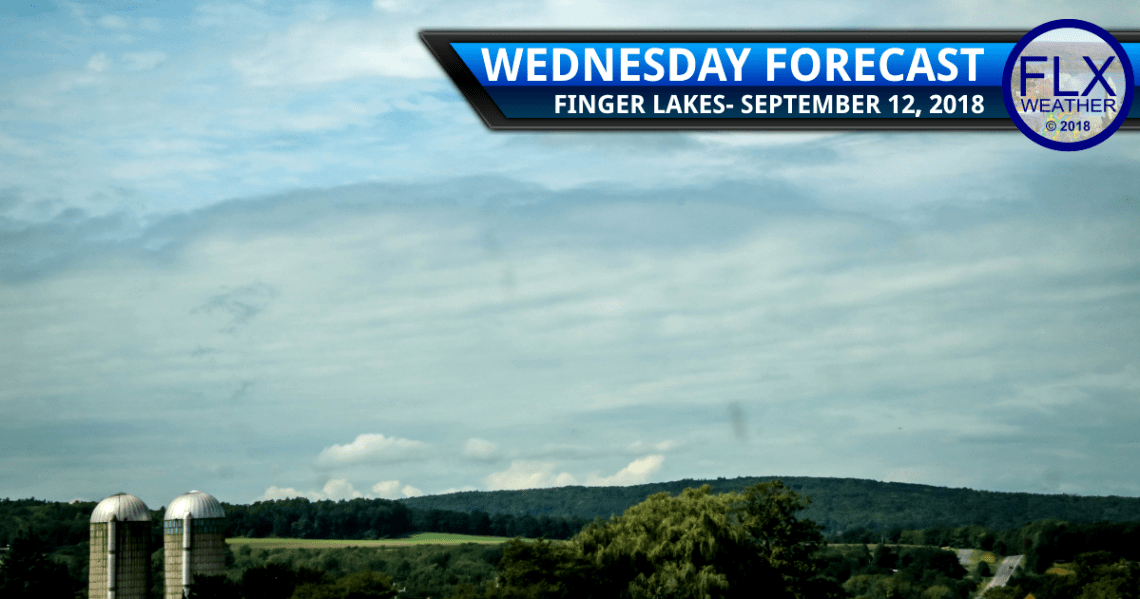 finger lakes weather forecast wednesday september 12 2018 fog sun clouds