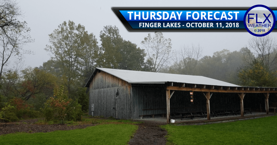 finger lakes weather forecast thursday october 11 2018 cold front hurricane michael
