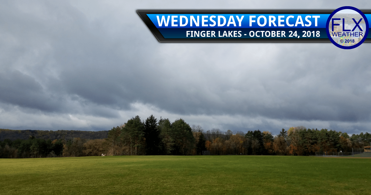 finger lakes weather forecast wednesday october 24 2018 cloudy cold lake effect rain showers