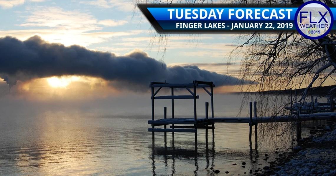 finger lakes weather forecast cold lake effect sun icy mix freezing rain wednesday