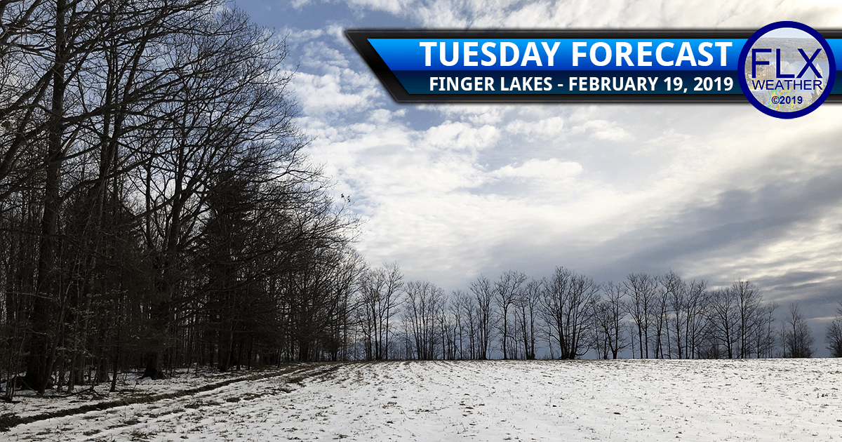 finger lakes weather forecast tuesday february 19 2019 snow sun clouds temperatures wednesday wintry mix