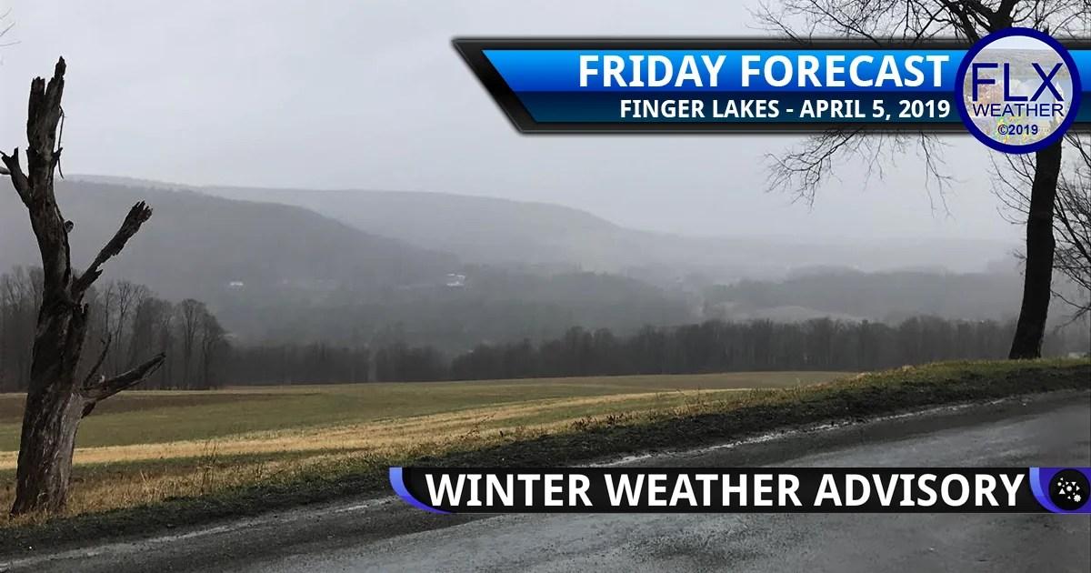 finger lakes weather forecast friday april 5 2019 freezing rain rain ice weekend weather warm up