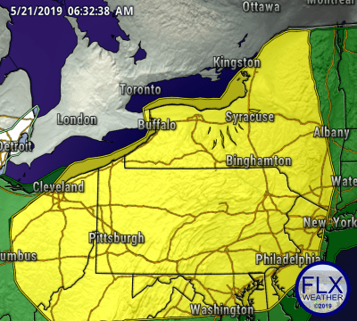 finger lakes weather forecast severe thunderstorm outlook day 3 thursday may 23 2019