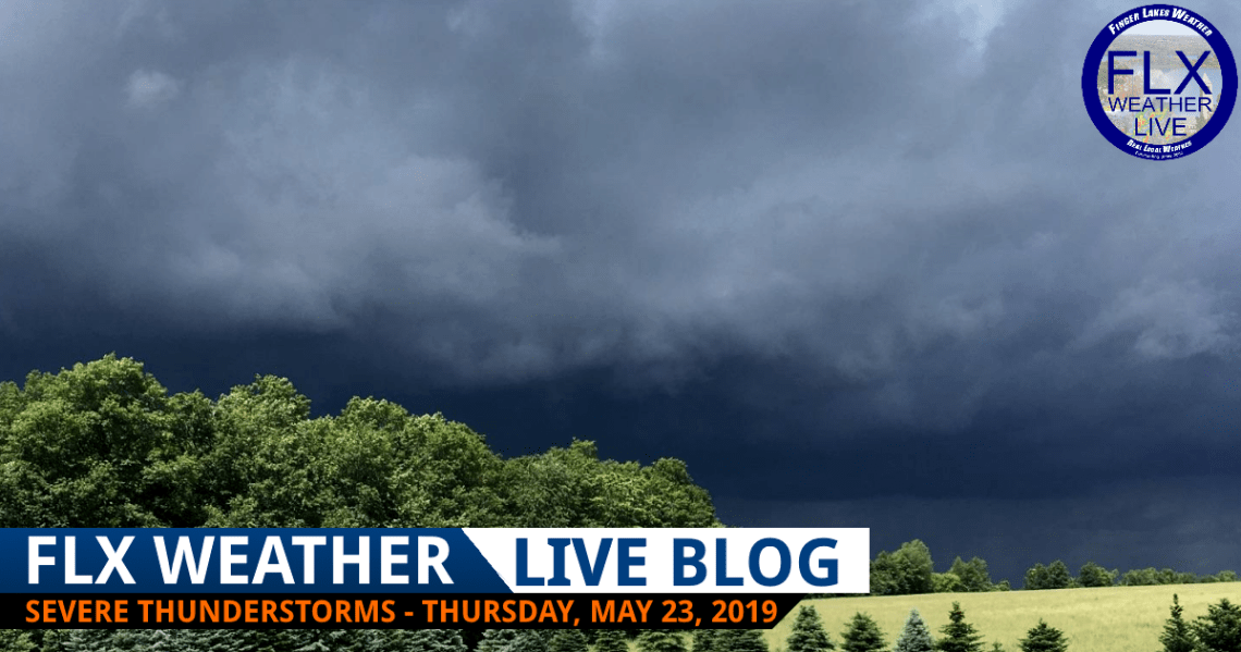 finger lakes weather live blog severe thunderstorms thursday may 23 2019