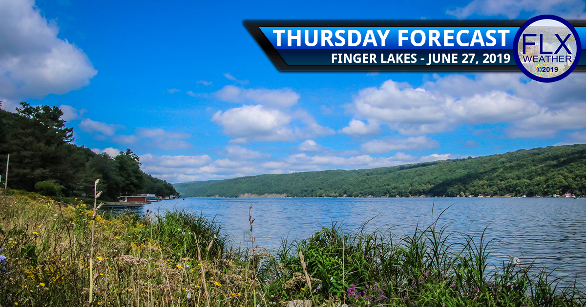 finger lakes weather forecast thursday june 27 2019 sunny warm weekend rain 4th of july weather