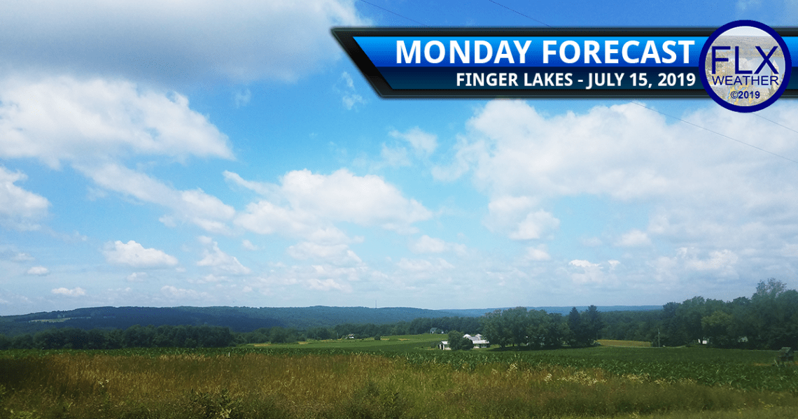 finger lakes weather forecast monday july 15 2019 sunny warmer humid rain thunderstorms