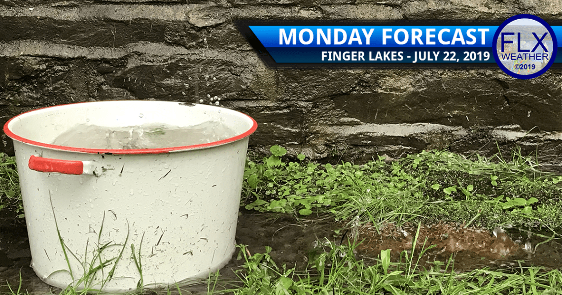 finger lakes weather forecast monday july 22 2019 rain thunder cooler temperatures weekly forecast