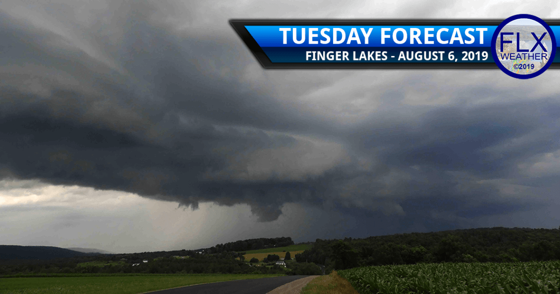 finger lakes weather forecast tuesday august 6 2019 showers thunderstorms tuesday wednesday thursday