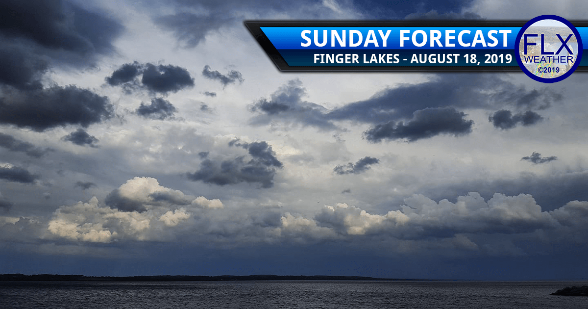 finger lakes weather forecast sunday august 18 2019 thunderstorms