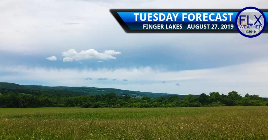 finger lakes weather forecast tuesday august 27 2019 rain showers virga rainy wednesday
