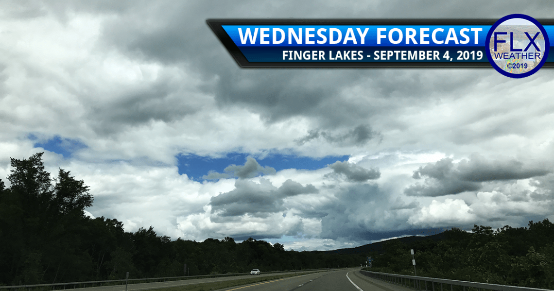 finger lakes weather forecast wednesday september 4 2019 rain thunderstorms cold front windy