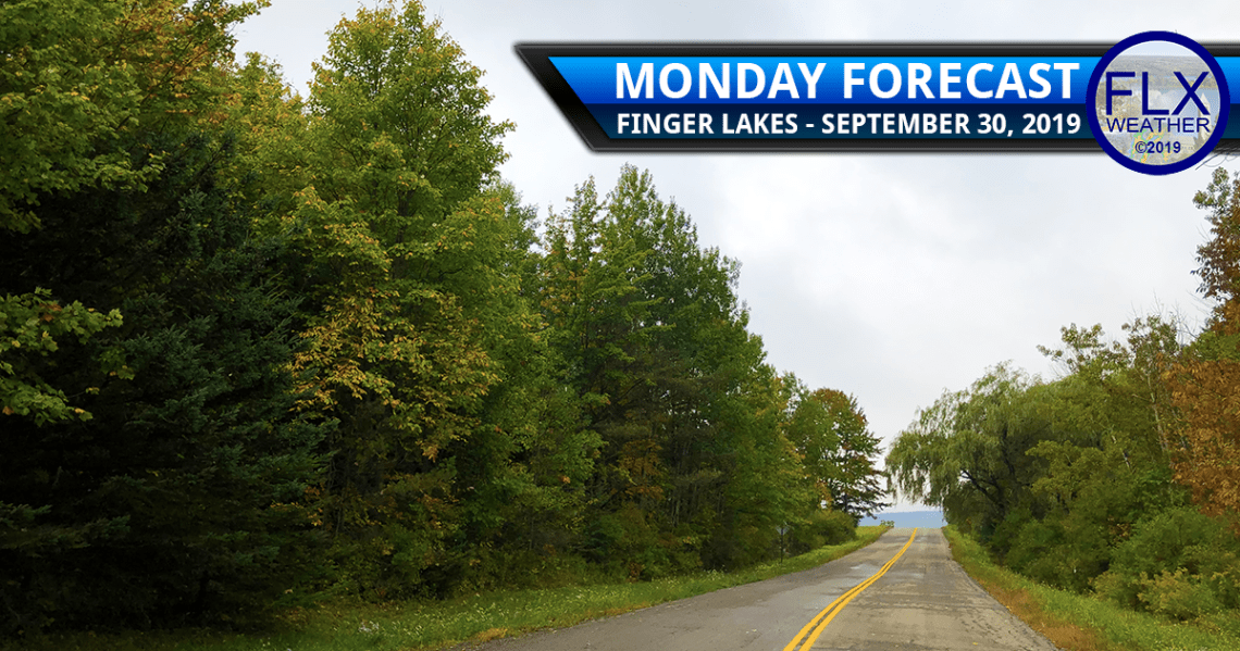 finger lakes weather forecast monday september 30 2019 clouds rain warm tuesday cold front