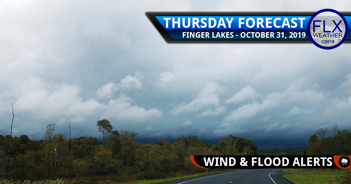 finger lakes weather forecast thursday october 31 2019 halloween storm wind rain severe thudnerstorms