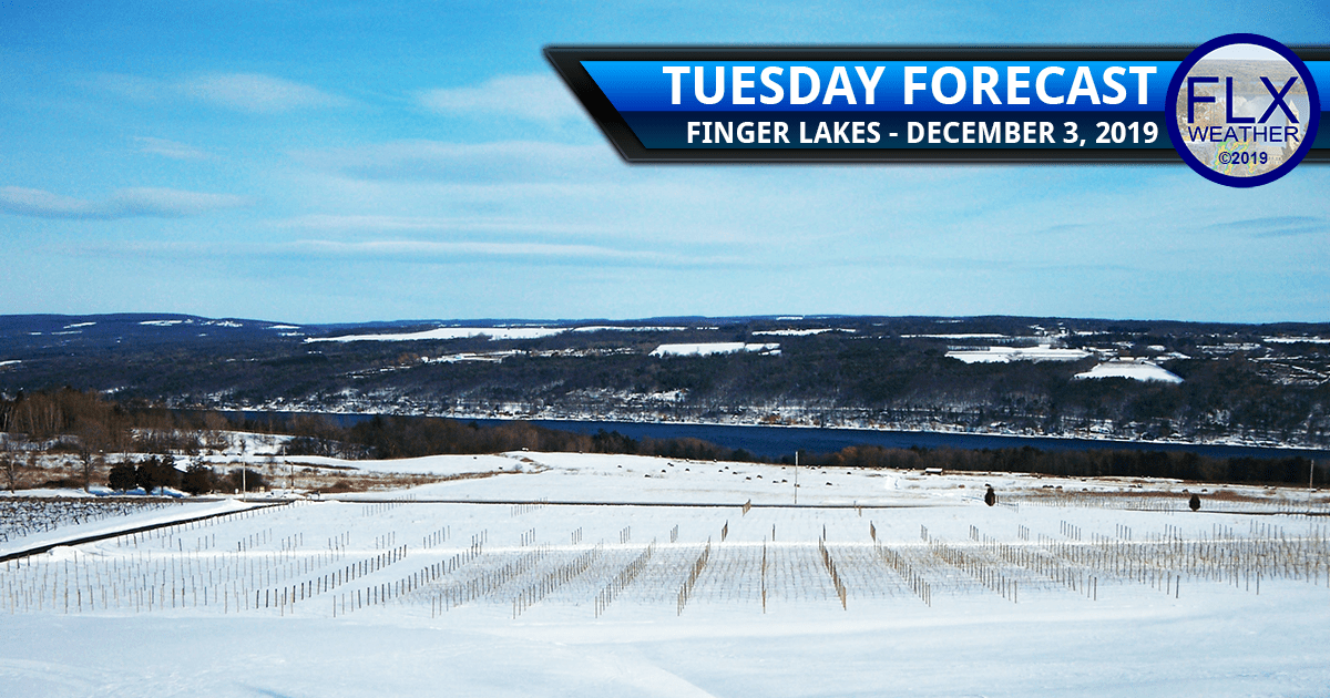 finger lakes weather forecast tuesday december 3 2019 sunshine snow temperatures
