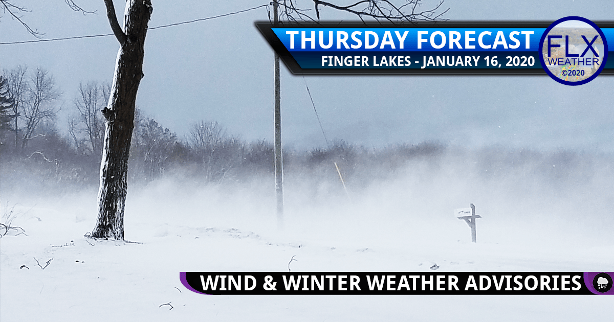 finger lakes weather forecast thursday january 16 2020 snow wind lake effect snow weekend storm updates