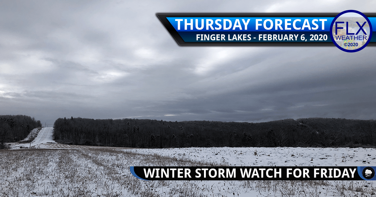 finger lakes weather forecast thursday february 6 2020 snow ice freezing rain sleet friday snow amounts