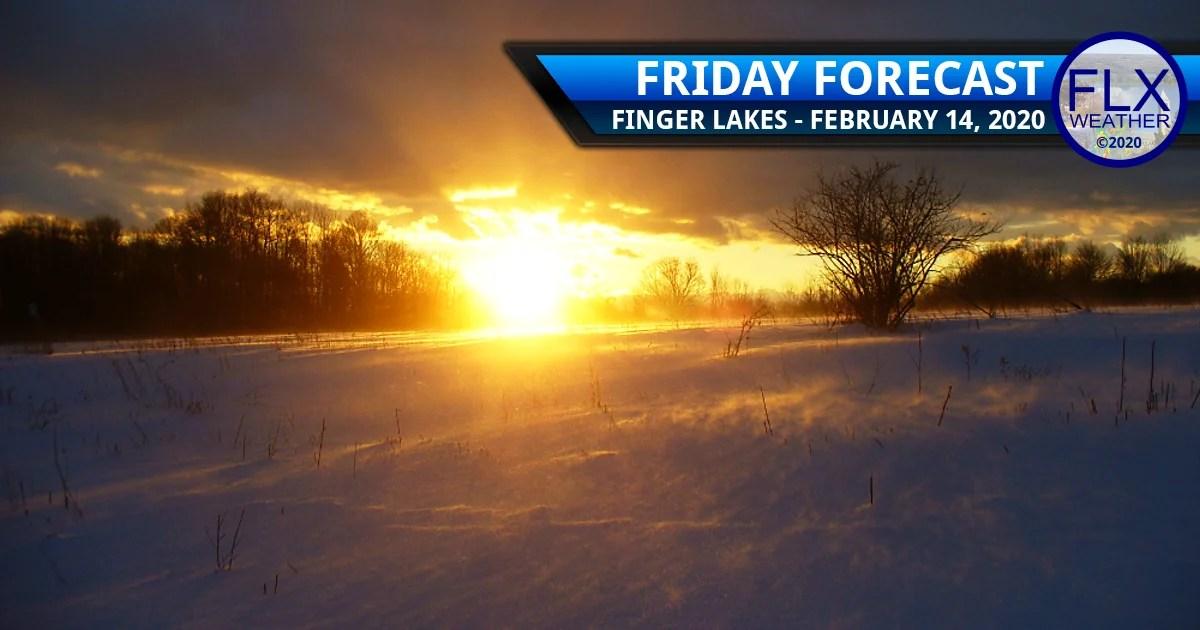finger lakes weather forecast friday february 14 2020