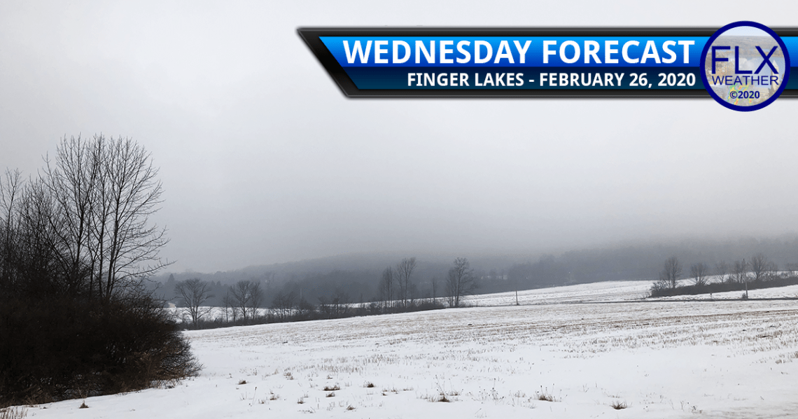 finger lakes weather forecast wednesday february 26 2020 wind cold front rain snow lake effect